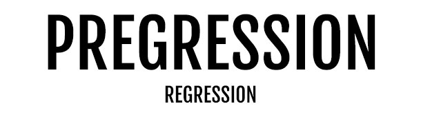 Pregression Is The New Regression