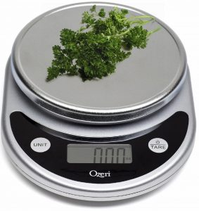 I like food scale. But honestly, who weighs out parsley?